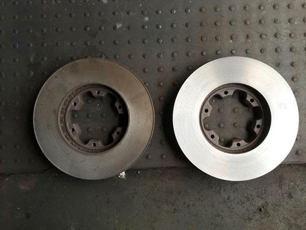 ディスクローター研磨加工